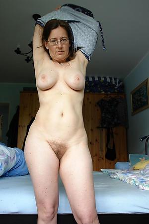 mature hairy women love posing nude
