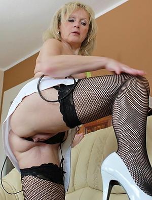 nude mature legs heels
