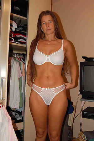mature in underclothing private pics