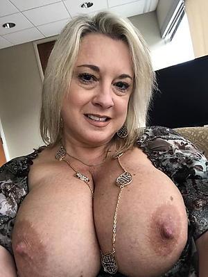 amazing mature big nipples