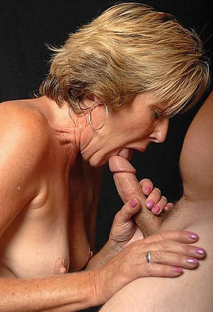 horny old women giving blowjobs