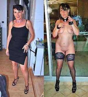 amateur dressed undressed wife