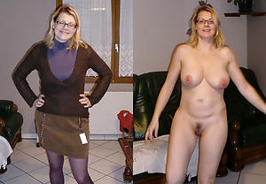 dressed undressed wife amateur pics