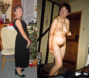 horrific dressed undressed wives