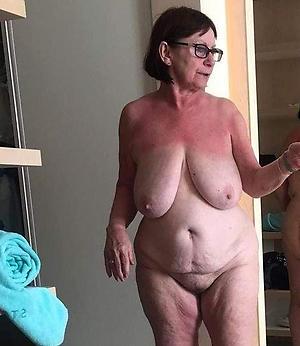 slutty granny in glasses