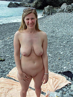 nude granny convenient beach