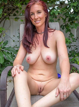 redhead hair granny with big tits private pics