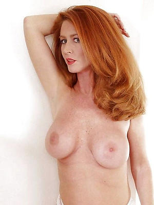 powered homemade busty mature redhead