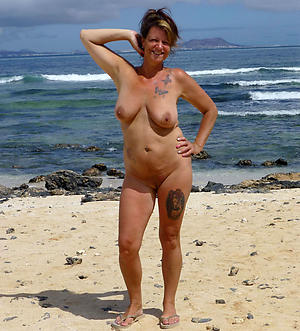 beautiful superannuated women with tattos