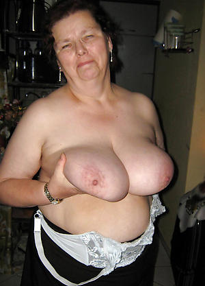 crazy big jugs on old women