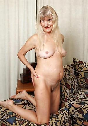 blonde full-grown granny porn pics