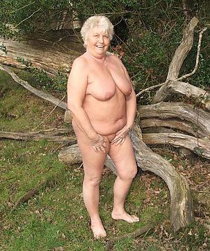 old bbw grannies posing nude
