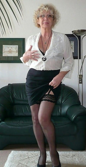 mature lovely women posing unfold