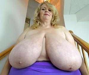 free pics of heavy granny tits