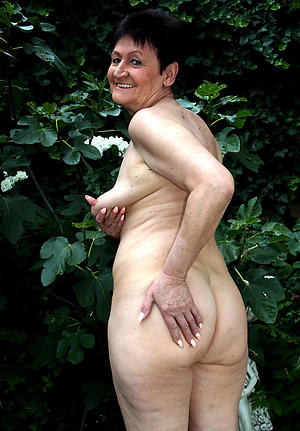 horny old women pussy