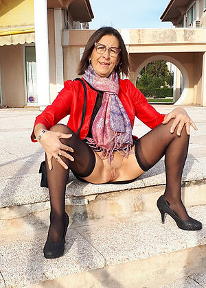 horny grannies in high heels porn pic