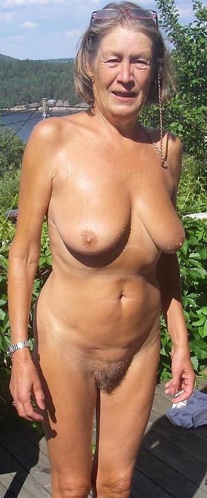 nice hairy granny pussy porn pic