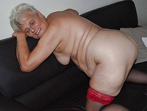 horny grandmother nudes