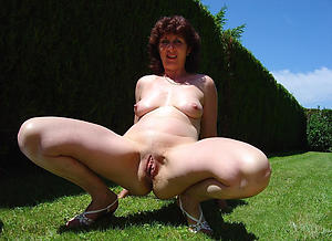 horny mature outdoors pictures