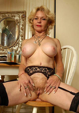nice granny mature vulva