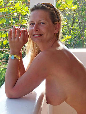 crazy sexy granny boobs in the altogether pics