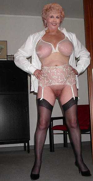 free pics of granny in undergarments