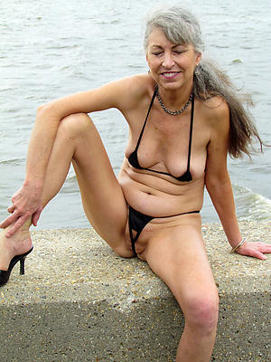 free pics of senior women in bikinis