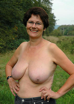 naked older body of men with chubby bosom