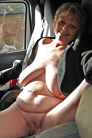 crazy granny nude selfshots
