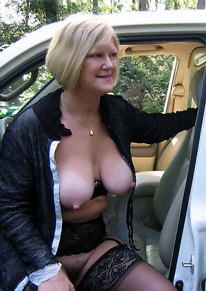 naked senior women with obese nipples picture