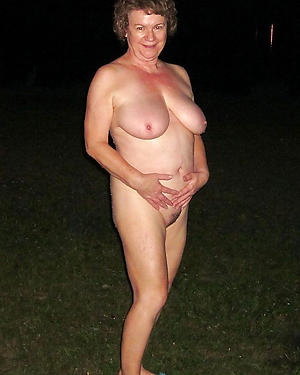 hot unconcealed grannies private pics