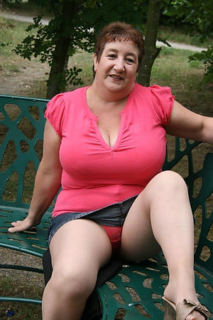 nude pics of age-old granny upskirt