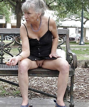 crazy old granny upskirt porn pic