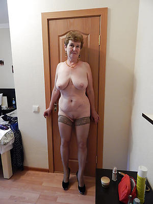 unorthodox pics of older women in stockings