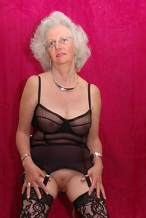 fantastic grey grannies in lingerie porn pic