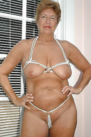 beautiful granny underwear porn photo