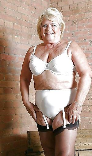 super-sexy granny lingerie porn