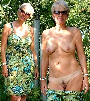 superannuated women dressed undressed private pics