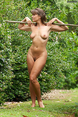 naughty full-grown outdoors pictures