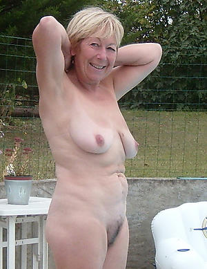 horny granny outdoors pics