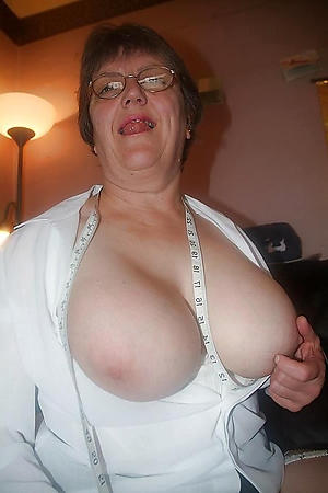 crazy busty granny be hung up on