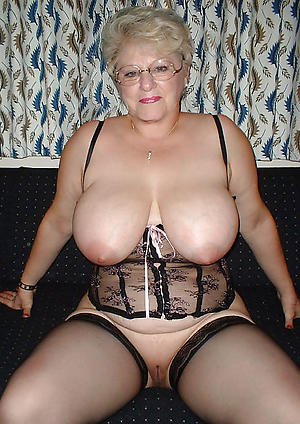 hot busty granny posing minimal