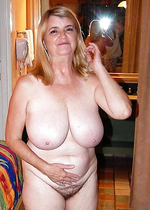 granny broad in the beam boobs