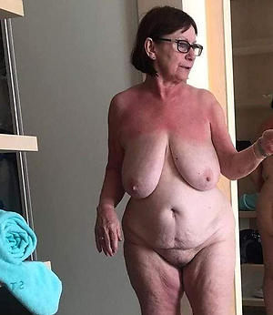 broad in the beam busty grannies posing nude