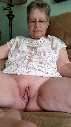 nice granny with glasses porn pic