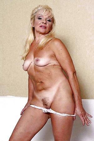 hot elegant mature granny stripping