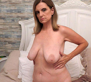saggy granny tits with tight pussy