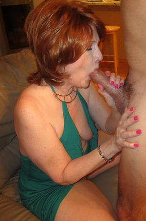 Real Homemade Mature Blowjob