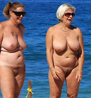 old women in excess of beach hot porn pic