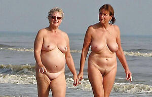 nude pics of granny at beach